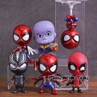 Figure Avengers Cosbaby Thanos Deadpool iron spider Blackpanther