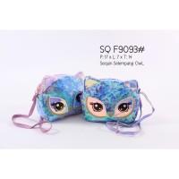 Tas Selempang Anak Sekolah Sequin Owl Import