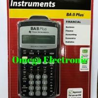 Texas Instruments BA II Plus Financial Calculator Sekolah Kuliah
