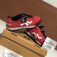 Sepatu Futsal Zethro Alfa - 2.0 Red/white/black