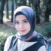 Hijab jilbab kerudung segiempat MEDYNA Scarf Pashmina voal zoya