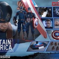 Hot Toys MMS 350 Captain America Civil War
