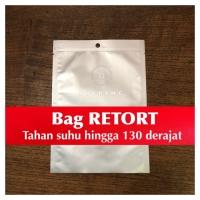 BAG RETORT 24x34 130 derajat presto autoclave vacuum autoklaf steril