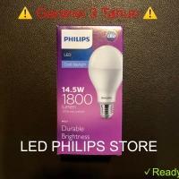 Lampu LED Philips 14.5 Watt Putih/Cool Day Light 14.5W 14.5Watt 14.5 W