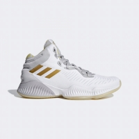 Adidas Mad Bounce 2018 Basketball Shoes White Gold Original