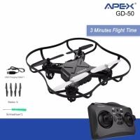 Drone APEX Mini Drone ZM-50 RC Quadcopter pesawat romot control