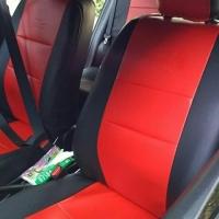Sarung Jok Mobil BRIO Full Dua Baris Bahan Kulit Lembut Siap Kirim