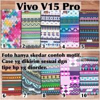 Softcase case vivo V15 Pro batik glow timbul fullprint