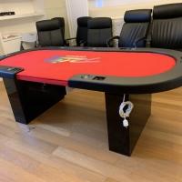 poker table / meja poker set