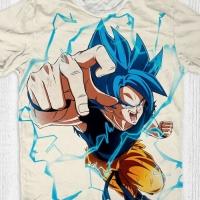 Baju Full Print Dragon Ball size anak - size L dewasa