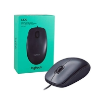 Logitech M90 full size corded mouse M 90