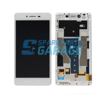 LCD TOUCHSCREEN OPPO R7 / R7F ORIGINAL WHITE