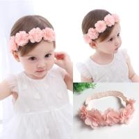 Bandana bayi perempuan/bando anak bayi motif bunga