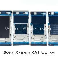 Frame Lcd Tulang Lcd Tatakan Lcd Sony Xperia XA1 Ultra G3212 G3221 - Merah Muda