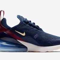 Nike Air Max 270 - Blue Void Sepatu Wanita