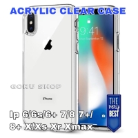 Case iphone X Xs Max Xr 6 6s 7 8 plus casing acrylic clear transparan