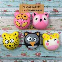 Squishy Animal Friends Bun by Sugar Sweet
