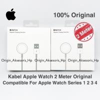 Kabel charger apple watch original kabel iwatch magnetic original