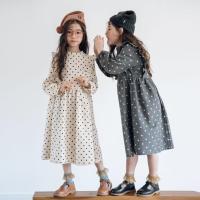0027 Baju Anak Perempuan Import Dress Baju Musim Dingin Hangat Tebal