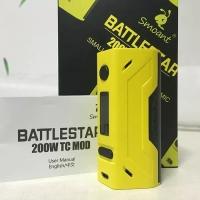 Rokok Elektrik / Vape SMOANT BATTLESTAR 200W TC MOD + 2 AWT Battery