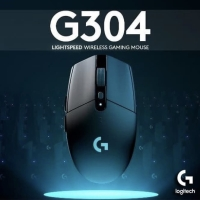 LOGITECH G304 LIGHTSPEED WIRELESS GAMING MOUSE.