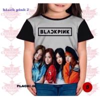 Kaos BLACKPINK Face Kpop Anak Shirt - 0972 PSP
