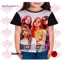 Kaos BLACKPINK KPOP Anak Perempuan Shirt - 0974 PSP