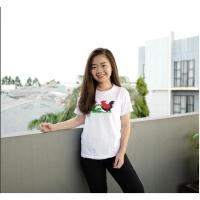 Baju Kaos Wanita Mangkok Ayam Jago Best Seller Shirt 3504
