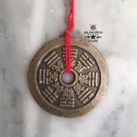 Barang antik koin kuno cina 12 sio ukuran jumbo