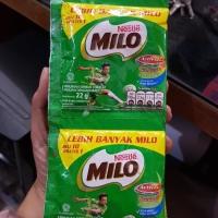 Milo Sachet 1 Renceng / 10 Sachet @22gr / Renceng / Susu Nestle
