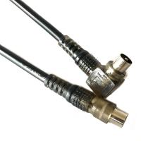 Kabel Antena TV Kitani Coaxial 5C 2M | Jek Cowo Male Jack 2 Meter