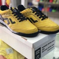 Sepatu Futsal Zethro Alfa 2.0 (Leather) yellow
