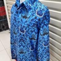 Batik Korpri Sutra Jumbo / Baju Batik Korpri Silky Jumbo