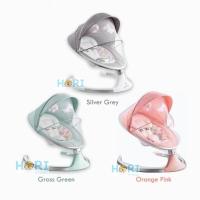 Bouncer Baby Swing Ayunan Bayi Remote Elektrik Mirip Mamaroo Nuna Leaf
