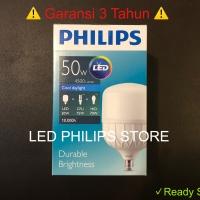 Lampu Bohlam LED Philips 50 Watt 50W 50Watt 50 W (Nyala Putih)