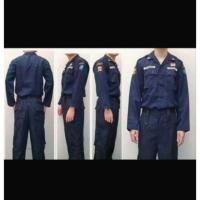 Baju PDL Security Biru Dongker