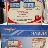 Avr Transformer Step down+Stabilizer 2000 220V to 100V-110v-115v-120v