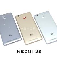 Backdoor Casing Belakang Tutupan Baterai Xiaomi Redmi 3S Redmi 3 Pro - Grey
