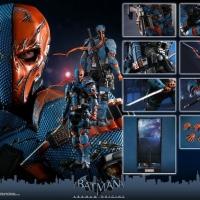 Hot Toys Death Stroke Arkham Knight Origins Hottoys DeathStroke