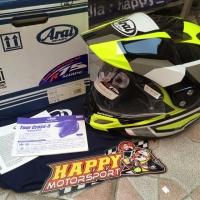 SALE Baru 100% Helm arai tourcross 3 catch yellow 2019 size M oriJapan