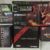 PC Rakitan Gaming Ryzen 5 2600 ASUS GTX 1070Ti 1070 Ti Garansi Resmi