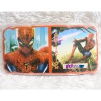Kartu undangan ulang tahun karakter spiderman - universal