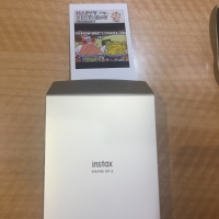 Jasa Print Instax Mini w/ Instax Share Sp-2 Polos ( White)