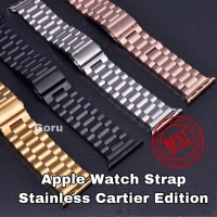 Stainless apple watch strap iwatch 2 3 4 steel milanese 42mm 42 44 mm