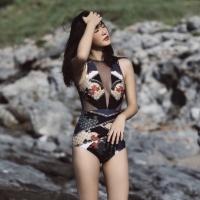 bikini seksi retro baju renang model swimsaic ready stock S-XL