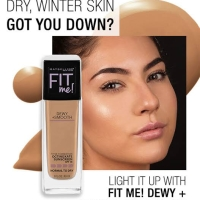 Maybelline Fit Me Dewy Smooth Foundation - 115 Ivory