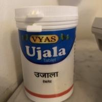 Obat Mata Katarak Herbal (Ujala Eye tonic) 100 tab - Ayurvedic Vyas