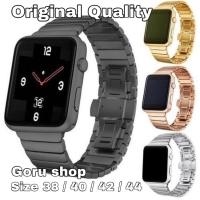 Strap apple watch iwatch 4 3 2 1 stainless steel milanese 42 44 mm ori