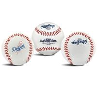 Rawlings Official MLB Team Logo Baseball Bola Ball Dodgers