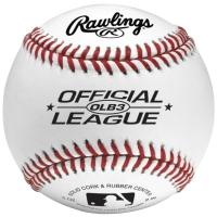 Rawlings Official League Logo Baseball Bola Ball